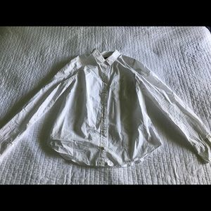 J. Crew White Button Down